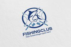 Fishing Club Logo @creativework247