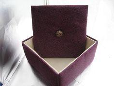 Jewelry Box  Girls Jewelry Boxes Fabric jewelry Box  by hazelgibbs, $35.00