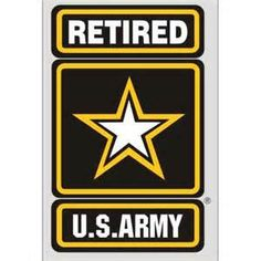 U.S. Army Retired Logo - Bing Images Military Post, Military Police, Military Veterans, Military Service, Military Retirement Parties, Retirement Cakes, Retirement Ideas, Us Army Logo, Welcome Home Soldier