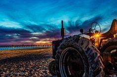 Typical Fall Beach Scene on the Crystal Coast  -