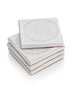 4 Crackle Coasters | M&S