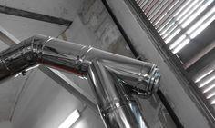 Conductos extracción calderas en acero inox ei 30.