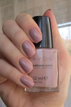 #avon #nailpolish in Naked truth http://www.fabulous-beauty-chic.com for more #beauty