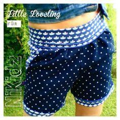 Nähanleitungen Baby - Hotty Shorty Ebook - kurze Damenhose 34-42 - ein Designerstück von NiKidz bei DaWanda