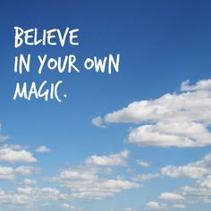 Believe. Yes. :: Rereading Alana Sheeren's guest post this morning and saying these words like a mantra for the day.