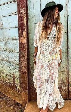 love boho style bohemian boho chic womens fashion gypsy style hippie style handmade jewelry DIY bohemian style home decor boho decor art boho fashion boho jewelry earthy style Mori Girl hippy Boho Chic, Look Hippie Chic, Estilo Hippie Chic, Look Boho, Boho Gypsy, Gypsy Style, Hippie Style, Bohemian Style, Bohemian Fashion