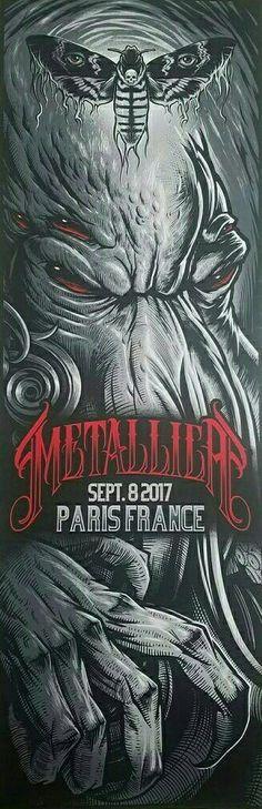 Metallica - Paris France, 2017