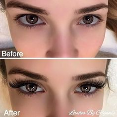 Mink eyelash extensions ❤ liked on Polyvore featuring beauty products, makeup, eye makeup and false eyelashes