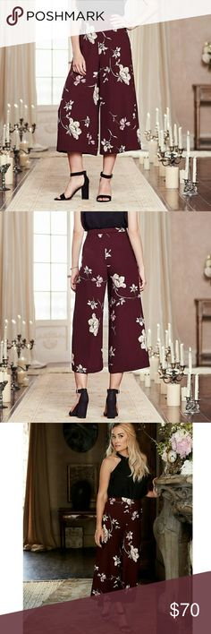 Lauren Conrad wide leg pants Brand new with tags. Sold out everywhere. Hard to find. LC Lauren Conrad Pants Wide Leg