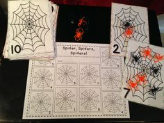 SALE! Fall & Halloween Math & Literacy Centers! 40 Centers Activities!
