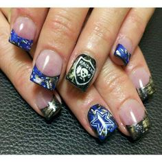 #raiders #nailart