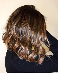 Luscious Balayage With Subtle Purple Tones - 20 Stunning Examples of Mushroom Brown Hair Color - The Trending Hairstyle Bronde Hair, Brown Hair Balayage, Balayage Hair Brunette Medium, Chocolate Brown Hair Color, Brown Hair Colors, Carmel Hair, Dark Hair With Highlights, Brunette With Caramel Highlights, Brunette Hair