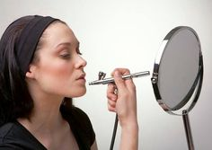 You can achieve perfect make up by doing it yourself!