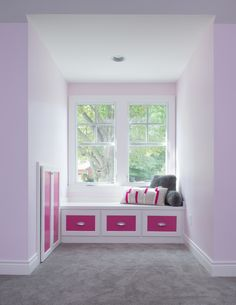 Built in window seat by Profile Cabinets