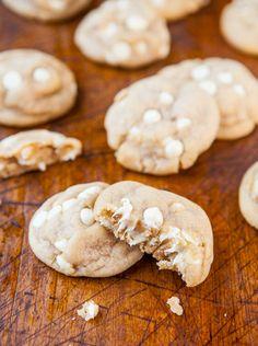 Coconut Oil White Chocolate Cookies averiecooks.com