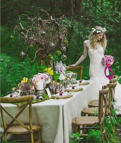 Get Inspired: 54 Enchanting Wedding Centerpiece Ideas  this looks good too... @Jaclyn Neff