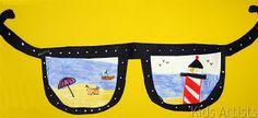 Kids Artists: Sunglasses