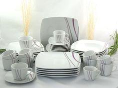 Porzellan Tafelservice Kaffeeservice Essservice 42tlg TK-964 Marisco  NEU Teller Set, Ebay, House Design, Plates, Spring, Tableware, Kitchen, Home, Dining Ware