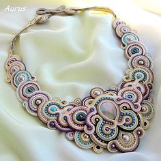 Jadwiga Betley/Galeria Aurus - Soutache braid necklace