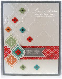 Love these Stampin' Up! colors