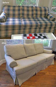 Ticking Stripe Furniture And Upholstery Pinterest Shabby