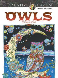 Amazon.com: Creative Haven Owls Coloring Book (Creative Haven Coloring Books) (9780486796642): Marjorie Sarnat: Books