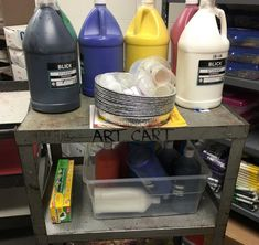 art room 7 Paint Routines Youll Never Regret Teaching Elementary Art Rooms, Art Lessons Elementary, High School Art, Middle School Art, Routine, Art Classroom Management, Classroom Organization, Class Management, Classroom Ideas