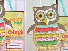 Create a large owl to display on the classroom wall.  Each piece of piece of fabric should be color coded to match your behavior system.  Attach clothespins with students name on color.  Be sure to make it large enough for everyone to fit.