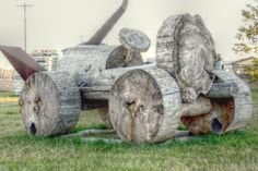 Ridin' with Fred Garden Sculpture, Outdoors, Birds, Texture, Wood, Outdoor Decor, Crafts, Travel, Home Decor