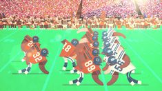 Super Bowl 2014: American Football Guide #animation