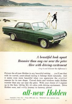 1965 HD Holden Special Sedan Aussie Original Magazine Advertisement - My list of the best classic cars Holden Australia, Aussie Muscle Cars, Australian Cars, Car Brochure, American Motors, Best Classic Cars, Car Advertising, Old Trucks, Car Car