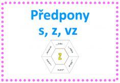 Předpony s - z - vz - hexagon Montessori, Internet