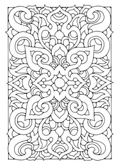coloring page mandala6a - A4 Colouring Pages