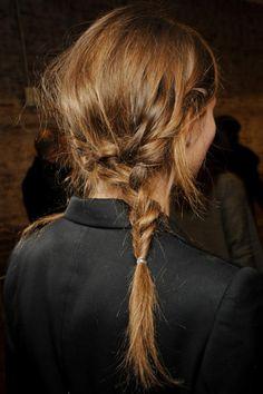 asymmetrical braid