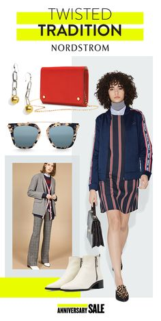 Now trending: varsity stripes, prep-school jumpers and mismatched plaid. Throw out the rulebook and add your own twist to this school-inspired style. Fill your closet with the best brands and latest trends at the Nordstrom Anniversary Sale, July 21 – August 6.