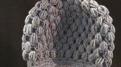 "Sara""s Puff Stitch Crochet Hat | Crochet Geek - Free Instructions and Patterns"