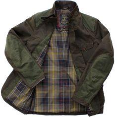 "arbour ""X To Ki To"" Beacon Heritage Sports jacket, a collaboration between Barbour and Japanese designer Tokihito Yoshida"
