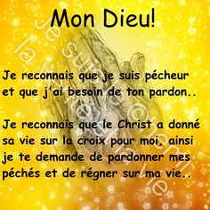 French Qoutes, Good Prayers, Christian Verses, Bible Study Tips, Jesus Christ, My Jesus, Islamic Inspirational Quotes, Praise The Lords, Quotes About God