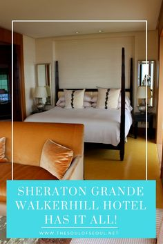 Sheraton Grande Walkerhill Hotel Has It All, Seoul, Korea. From an off track betting lounge to casino and restaurants. This hotel is the best place to stay in Seoul. Chic and classy and has it all. Where to stay in Seoul.