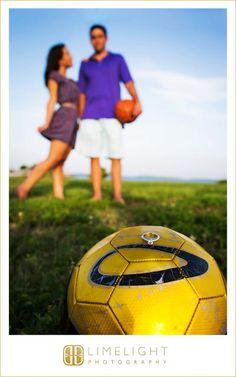 Limelight Photography, www.stepintothelimelight.com, Davis Islands, Engagement, Park, Soccer, Ball, Basketball, Ring