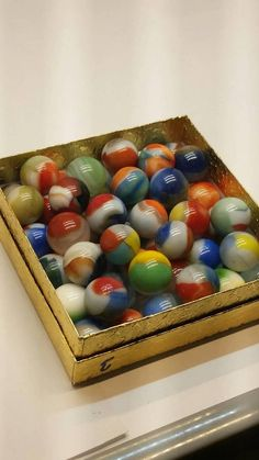 Check out this item in my Etsy shop https://www.etsy.com/listing/578608504/vitro-marbles-vintage-58-exquisite