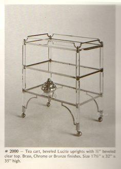 Classic Bar Cart