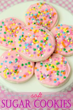 Soft Sugar Cookies R