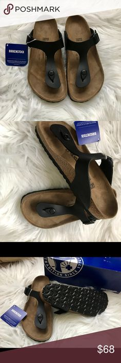 $69 FIRM BNWT BIRKENSTOCK GIZEH 37 Brand new with tags & box. Box might not be in perfect shape due to handling. Sz 37 regular width Please know your size in Birks before ordering. I can only guarantee I will be sending the European size stated on the listing. All items are inspected throughly and filmed before shipment.  Price is Firm    Thanks! Birkenstock Shoes Sandals