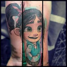 Watercolor Tattoo Artist Russell Van Schaick (@FindYourSmile) in Orlando, Florida
