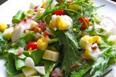 Cobb Salad with Apricot Dressing
