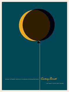 Poster Courtney Barnett de Jason Munn