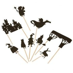 Castle Shadow Puppets