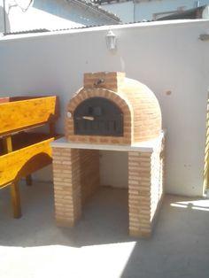 Horno de leña colocado en Alfajarin (Zaragoza)