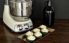 Spiced Stout Cupcakes with Malted Cream Cheese Frosting